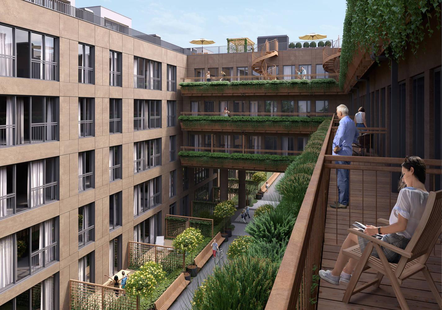 Widok z balkonu, Słoneczne Tarasy