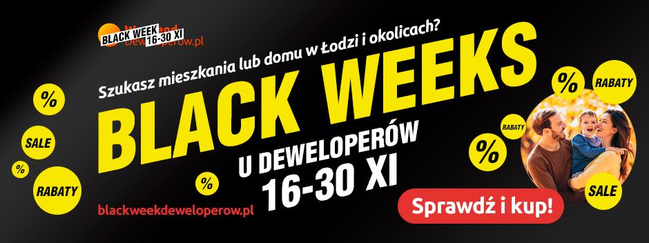 Black Weeks u deweloperów w Łodzi