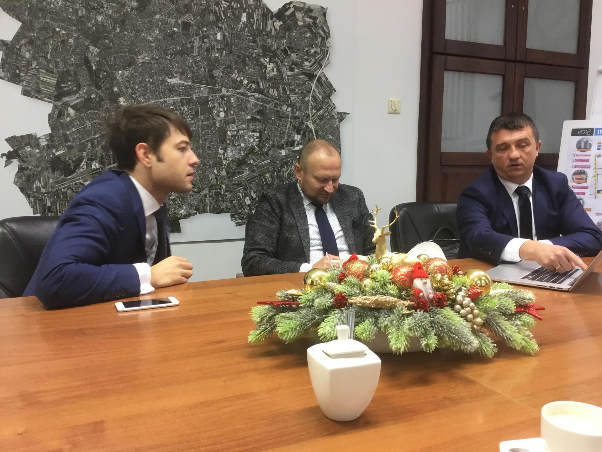 Konferencja w Urzędzie miasta w Łodzi