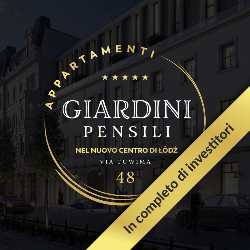 Appartamenti Giardini pensili nel nuovo centro di Łódź