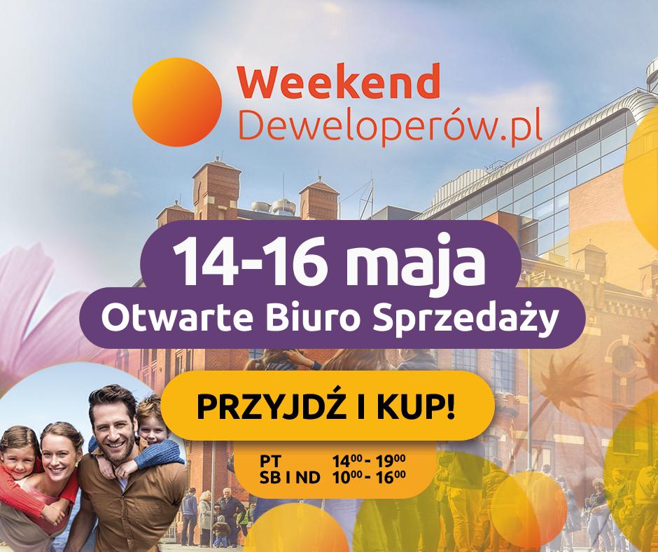 Weekend Deweloperów 14-16 maja 2021
