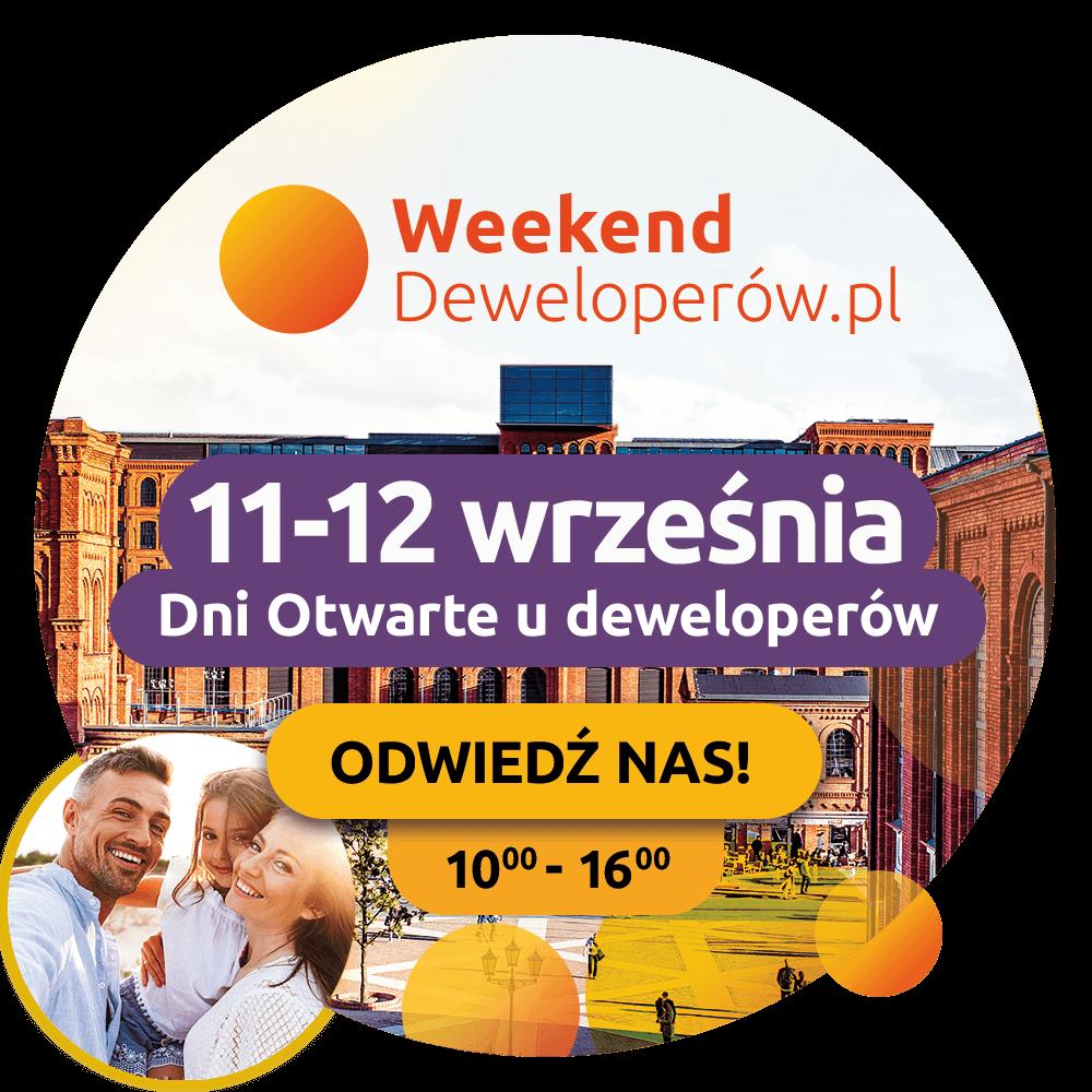 Weekend deweloperów 11-12 września Łódź